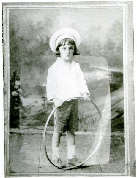 Николай Любимов в детстве