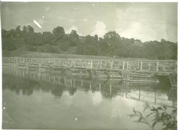 Мост через Оку по дороге в Перемышль