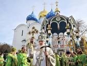 На реставрацию Троице-Сергиевой лавры выделено 300 млн. рублей