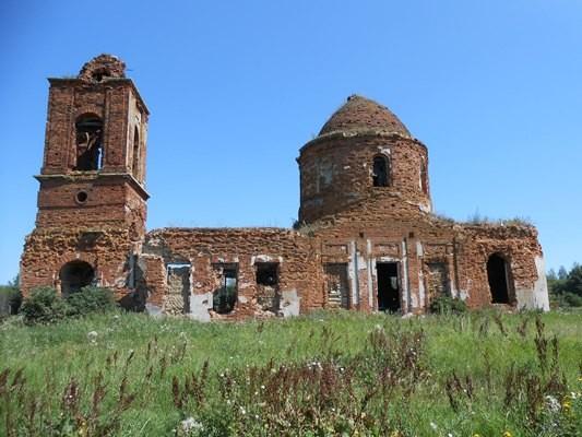 Преображенский храм села Внуково, последнее место служения священномученика Гавриила, современный вид