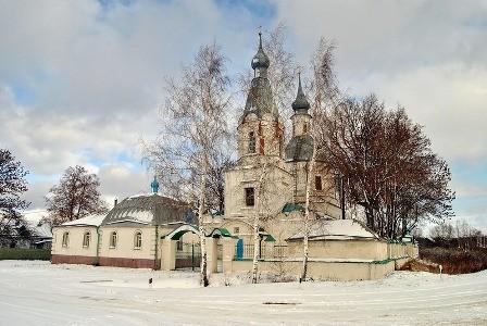 Храм Рождества Богородицы в селе Маково, современный вид