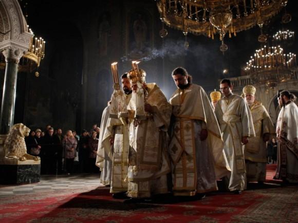 Рождество Христово в Александро-Невском соборе Софии
