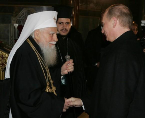 Встреча Патриарха Максима с В.В. Путиным