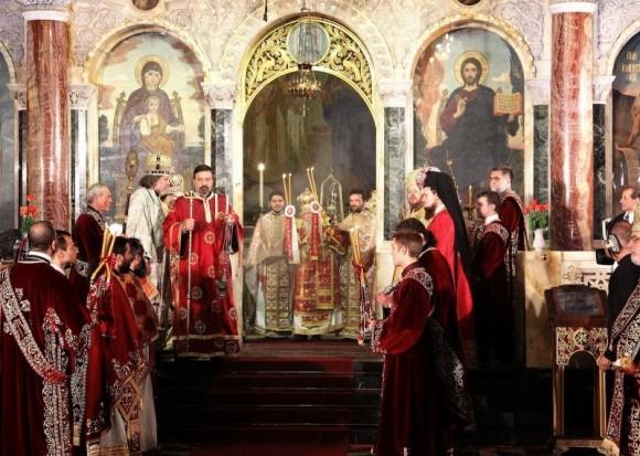 Пасхальное богослужение 2012 года