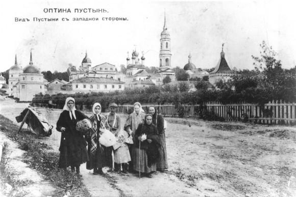Архивное фото. Паломники