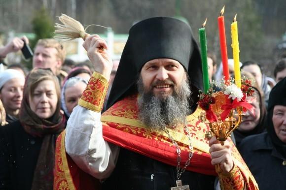 Пасхальный крестный ход в Предтеченском Скиту 2010 г.