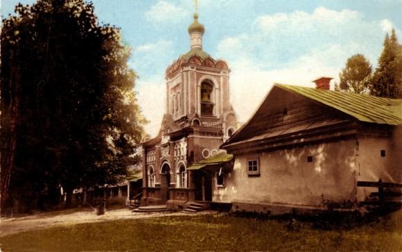 Вид Предтеченского скита