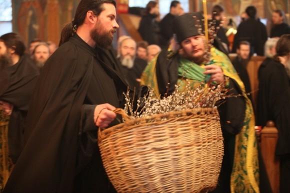 Вербное Вокресение, 2012 год