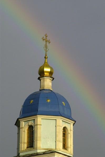 Храм в честь Владимирской иконы Божией Матери, купол