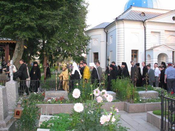 Последний визит Святейшего Патриарха Алексия II в Оптину Пустынь, 2005 г. (1)