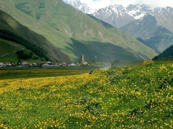 Сно. Деревня, в которой родился Патриарх Илия II
