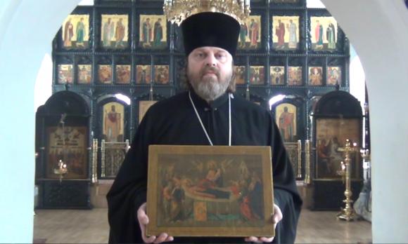 Протоиерей Георгий Еварестов, правнук священномученика Евграфа Еварестова. Фото: shapovo.ru