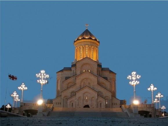 Новый кафедральный собор Святой Троицы в Тбилиси