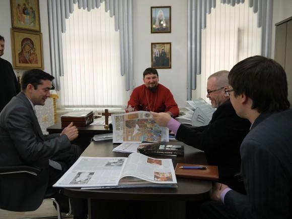 Встреча с пресс-службой Красноярской епархии