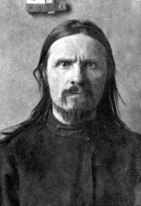 Архиепископ Астраханский Фаддей.  Внутренняя тюрьма ГПУ.  1922 год.