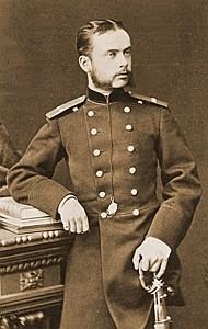 Гвардейский офицер-артиллерист Леонид Чичагов, 1870-е годы. Фото: chichagovs.narod.ru