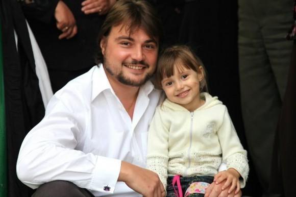 С племянницей Анастасией