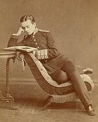 Леонид Чичагов, выпускник Пажеского корпуса, 1874 года. Фото: chichagovs.narod.ru