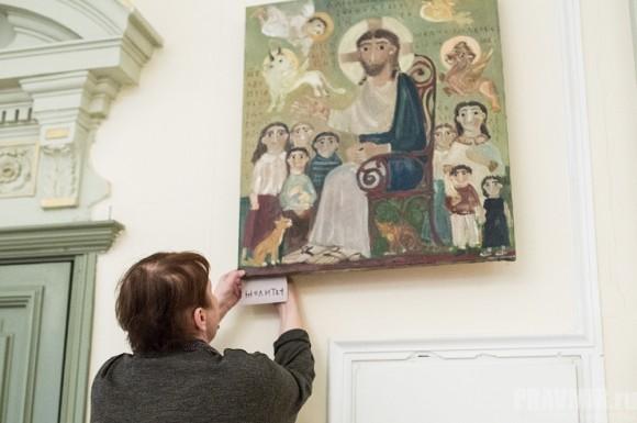 Выставка картин Елены Черкасовой (1)