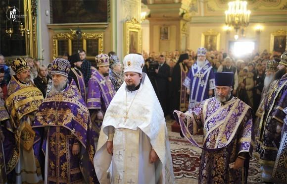 Архиерейская хиротония. Фото: patriarchia.ru