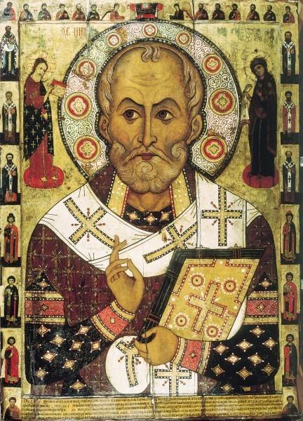 Алекса Петров. Икона из ц. Николы на Липне близ Новгорода. 1294 г. Новгородский музей-заповедник