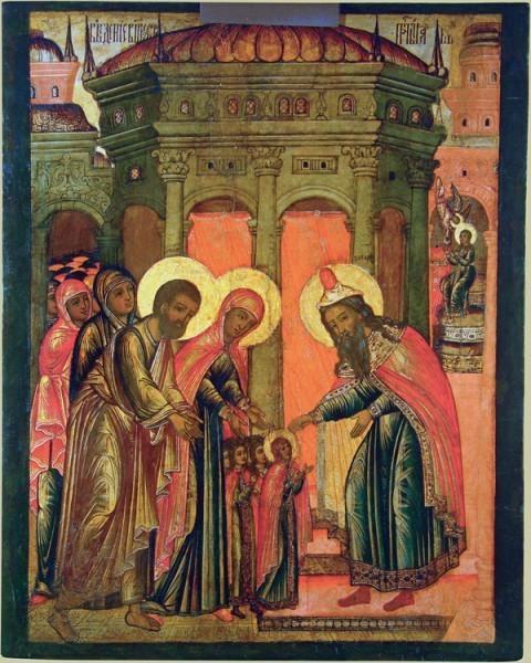Икона. Кон. XVII в. Владимиро-Суздальский музей-заповедник