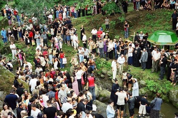 Массовые крещения в Аджарии