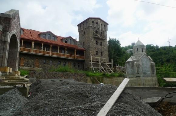 Строительство лавры Всех грузинских святых в Батуми
