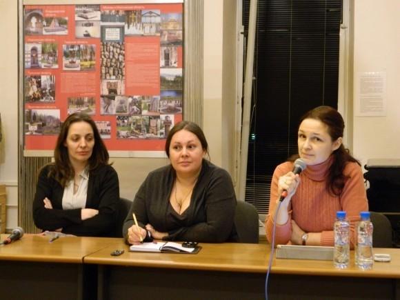 Юлия Курчанова, Елена Альшанская, Екатерина Асонова