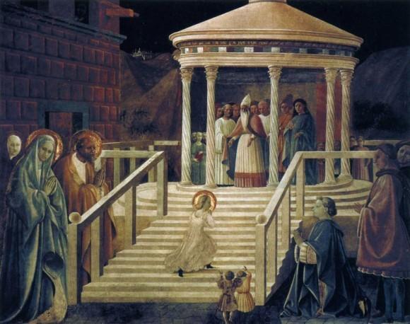 Паоло Уччелло. Фреска из собора в Прато. 1433—1434 гг. Прато, Италия