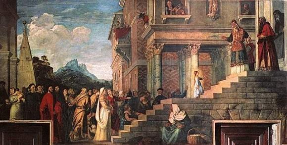 Тициан Вечеллио. 1534—1538 гг. Музей Академии, Венеция, Италия