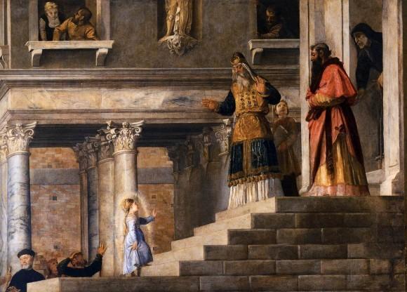 Тициан Вечеллио. 1534—1538 гг. Музей Академии, Венеция. Фрагмент