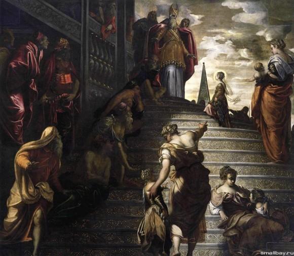 Якопо Тинторетто. Фреска церкви Санта Мария дель Орто. 1555 г. Венеция, Италия