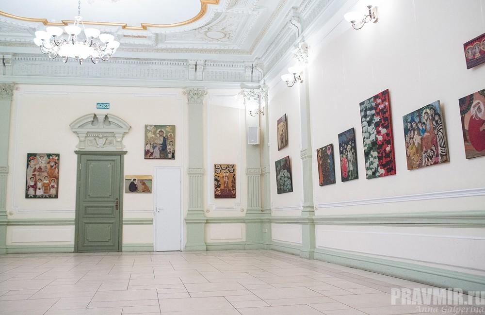 Выставка готова к открытию