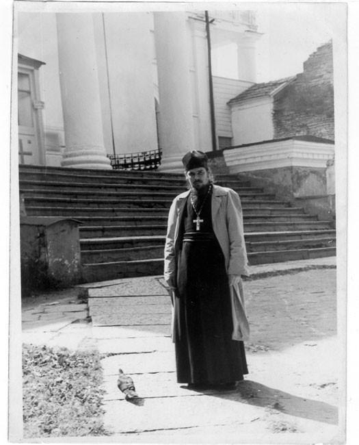 Патриарх Московский и всея Руси Алексий II в молодости (ок.1956-1962)