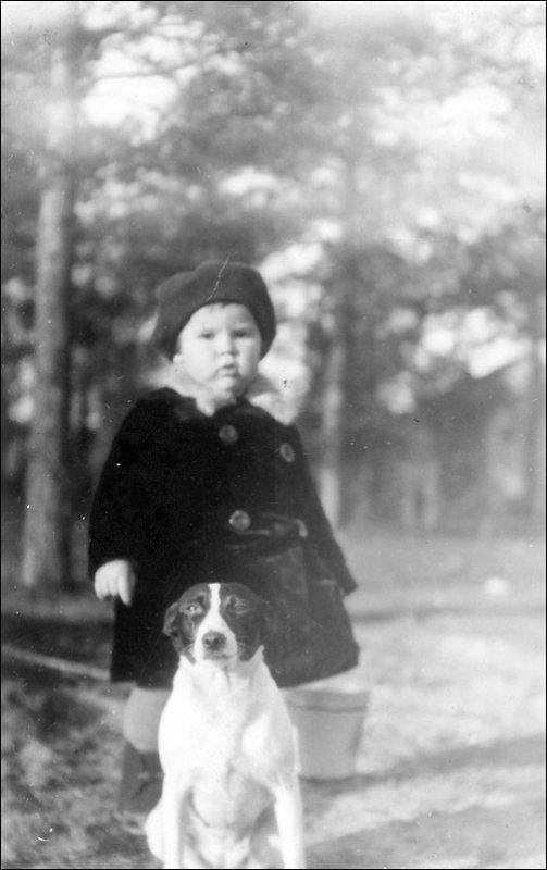 1930 г. Ревель. На прогулке.