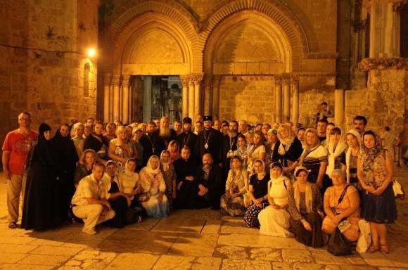 Иерусалим, с паломниками. 2011 год