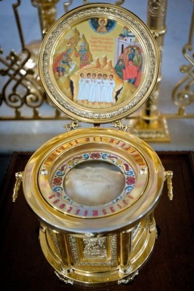 Успенский храм. Глава одного из Вифлеемских младенцев