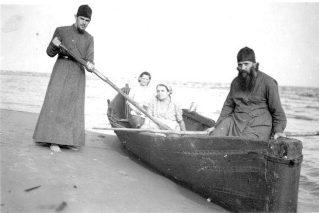 1955 г. Чудское озеро.