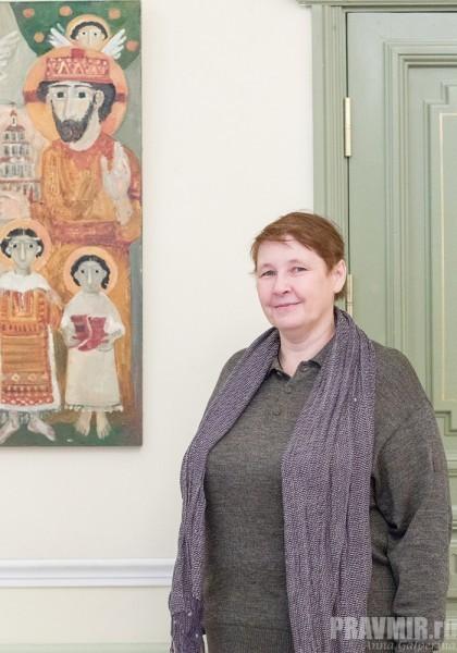Выставка картин Елены Черкасовой (5)