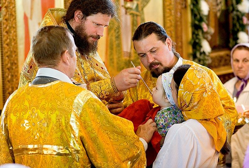 О Святом Причастии — Мгарский монастырь