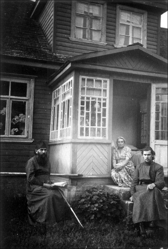 1955 г. Чудское озеро. С родителями.