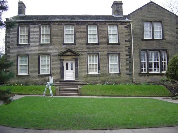 Музей семьи Бронте. Англия. Западный Йоркшир.