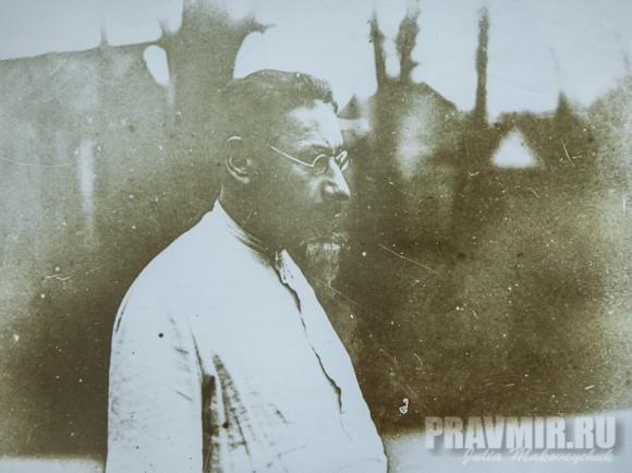 Священник Павел Флоренский. Сергиев Посад, Серебряно-желатиновый отпечаток