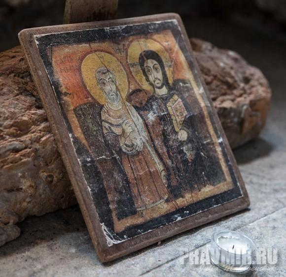 Икона св. Апостолов Петра и Павла в часовне