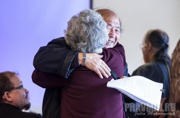 Встреча долгожданных гостей – протоиерея Михаила Ли и матушки Анны