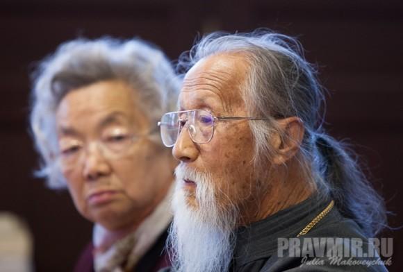 отец Михаил и матушка Анна Ли