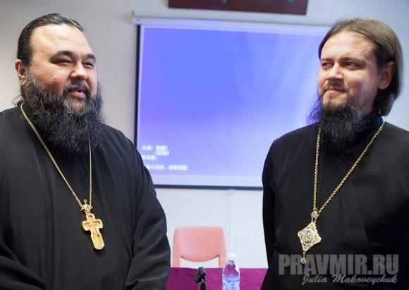 прот. Владимир Бойков и владыка Ефрем