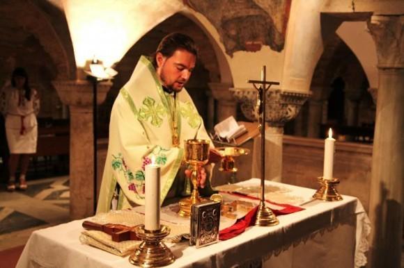 Венеция. Литургия на гробнице Апостола Марка. Сан-Марко. 2011 год