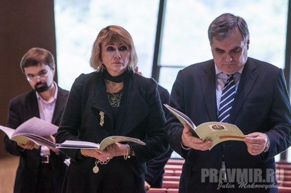 Генеральный консул Гонконга Калинин Владимир Анатольевич с супругой